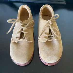 Toddler Jumping Jack Suede Shoes